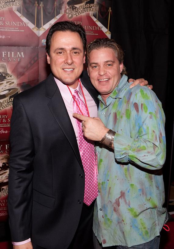 Angelo Giordano and Corey Haim