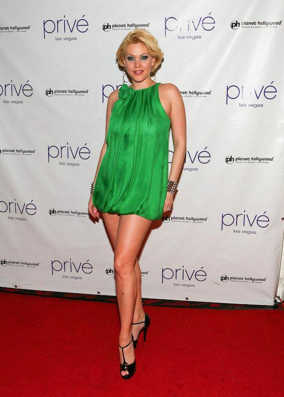 Shanna Moakler arrives at Privé