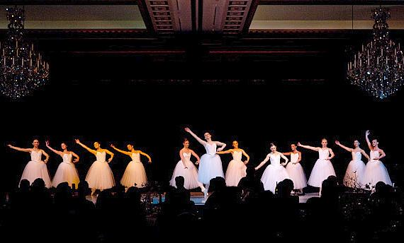 The Nevada Ballet Performs at 2010 Black & White Ball