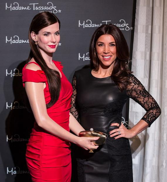 Extra TV's Adrianna Costa unveils wax figure of Sandra Bullock at Madame Tussauds Las Vegas