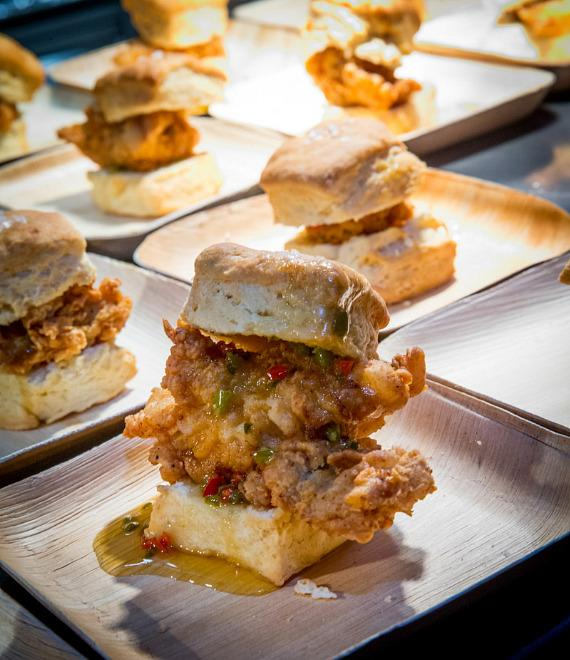 Food items at Yardbird Southern Table & Bar at The Venetian Las Vega
