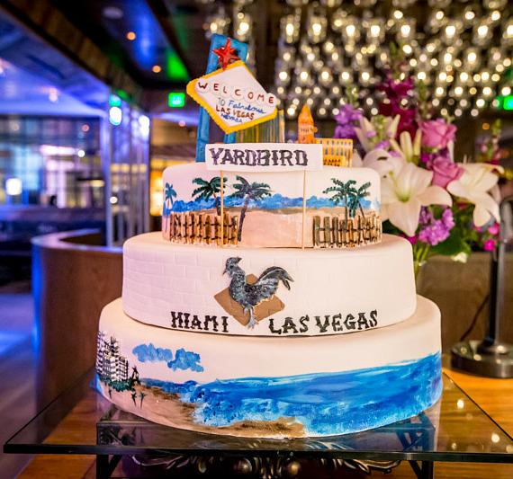 Cake at Yardbird Southern Table & Bar at The Venetian Las Vega
