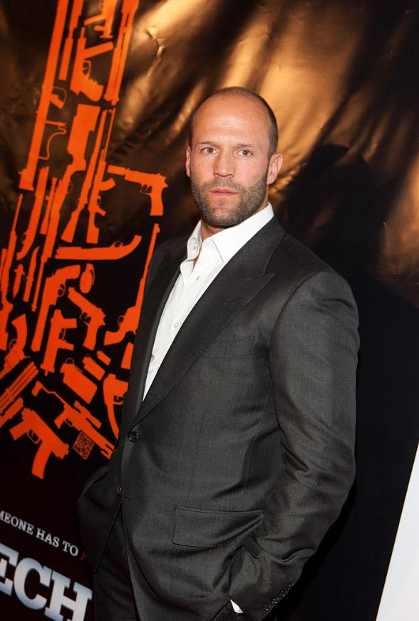 "Jason Statham at ""The Mechanic"" premiere at Planet Hollywood"