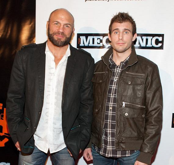 Randy Couture and son Ryan