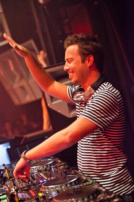 Sander Van Doorn performs at Marquee Nightclub at The Cosmopolitan of Las Vegas