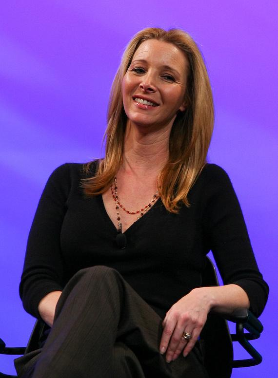 Lisa Kudrow at NATPE in Las Vegas