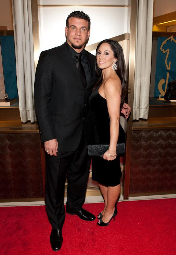 UFC fighter Frank Mir and his wife