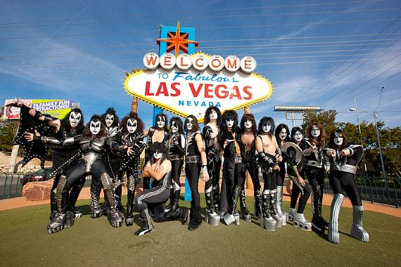 KISS tribute bands in Las Vegas