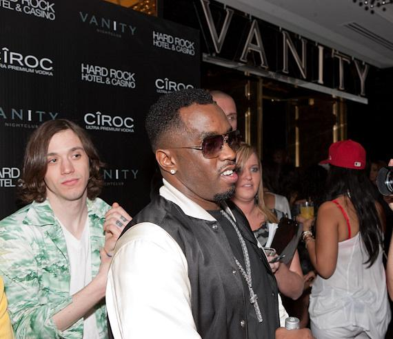 Maxwell Drummey of Chester French and Sean 'Diddy' Combs