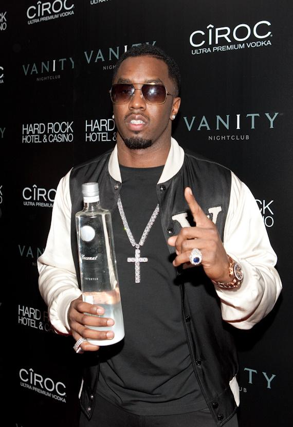Sean 'Diddy' Combs hosts the grand opening of Vanity Nightclub at Hard Rock Hotel & Casino