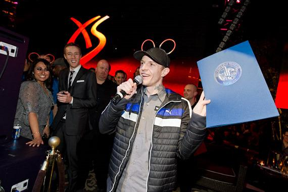 """deadmau5 with official proclamation of """"deadmau5 Day"""""""