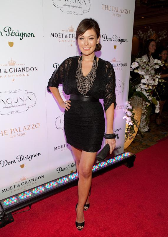 Lindsay Price at Laguna Champagne Bar in The Palazzo