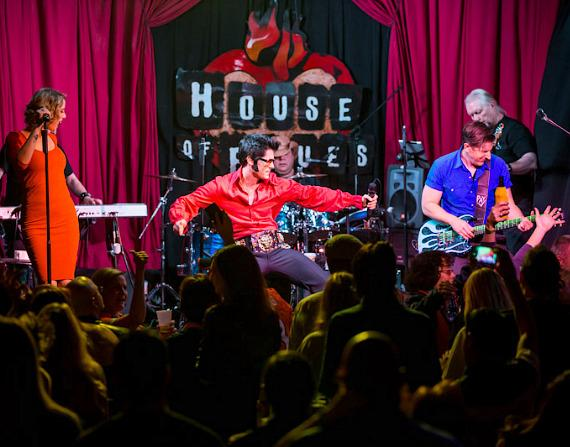 Graceland Ninjaz rocks the House of Blues Las Vegas