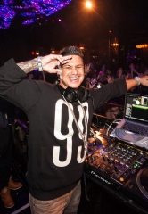 DJ Pauly D spins at Vanity Nightclub at Hard Rock Hotel Las Vegas