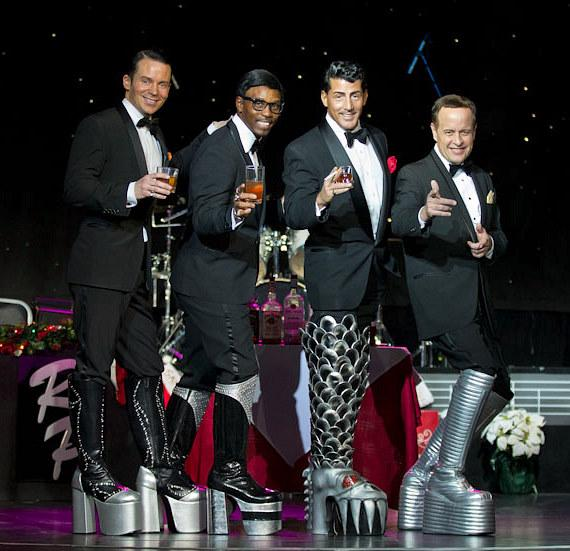 The Rat Pack is Back! Pay tribute to the original Rat Packer, Joey Bishop, for his 94th birthday and rock the official KISS boots that are currently touring Las Vegas in celebration of the upcoming opening of KISS by Monster Mini Golf on March 15, 2012