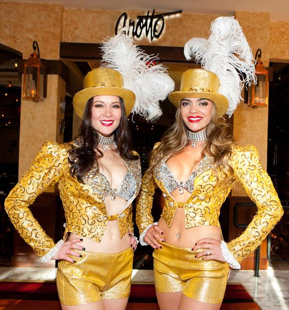 Gold Showgirls