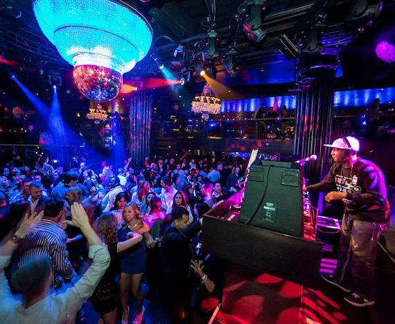 Grandmaster Flash performs at Body English Nightclub in Las Vegas