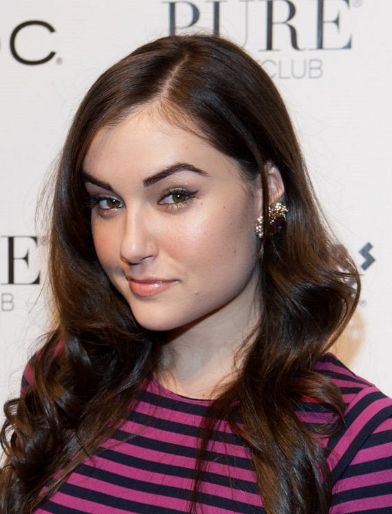 Entourage Starlet Sasha Grey Parties at PURE Nightclub
