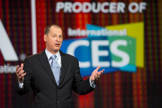 Consumer Electronics Association (CEA) President and CEO Gary Shapiro talks about CES 2013