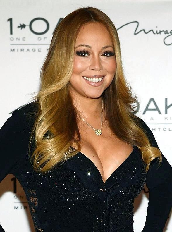 Mariah Carey Hosts Celebratory Evening at 1 OAK Nightclub inside The Mirage Hotel & Casino