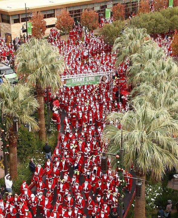 Opportunity Village Opens Registration for Seventh Annual Las Vegas Great Santa Run Dec. 3