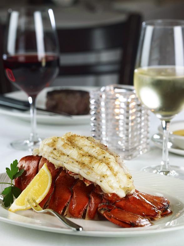 Summer Lobster at The Palm Restaurant in Las Vegas