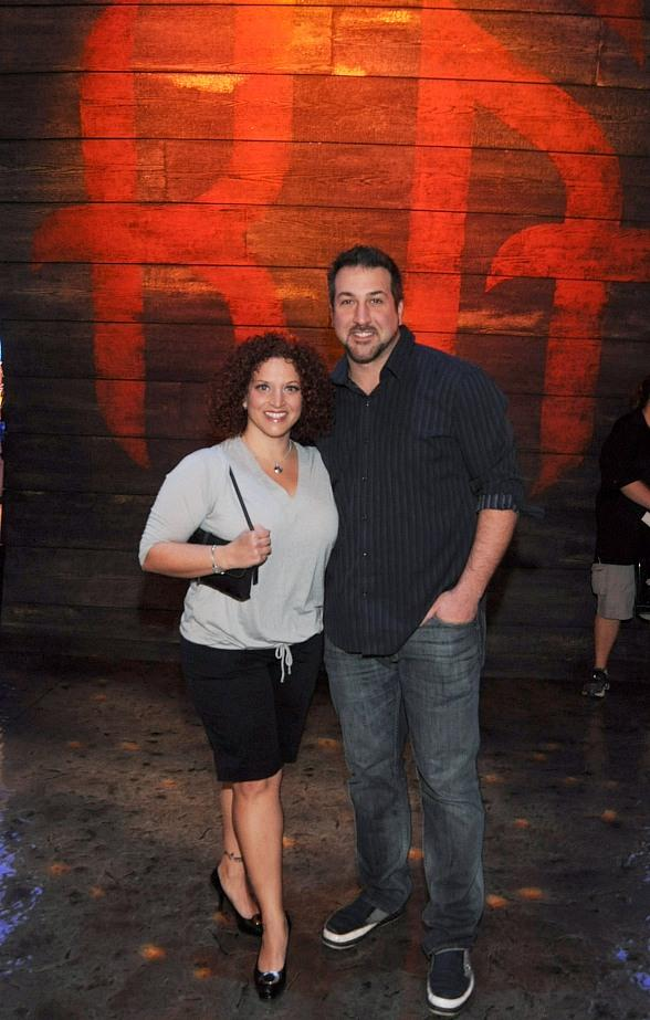 Joey Fatone Attends Performance of KA by Cirque du Soleil at MGM Grand