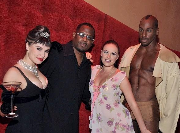Martin Lawrence Adds Some Sexy and Acrobatic to His Funny at Zumanity, The Sensual Side of Cirque du Soleil