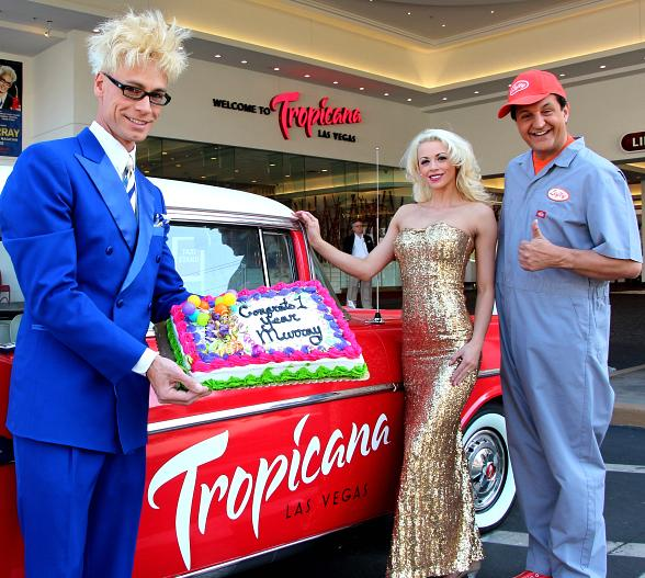 MURRAY Celebrates 1 Year Anniversary at The Tropicana Las Vegas