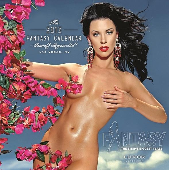 FANTASY Releases 2013 Barely Bejeweled Calendar