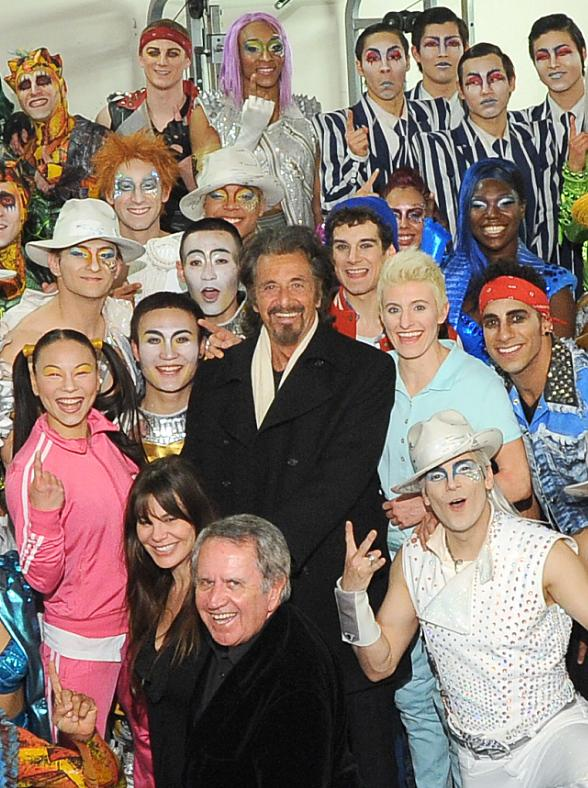 Al Pacino Attends Michael Jackson ONE by Cirque du Soleil at Mandalay Bay