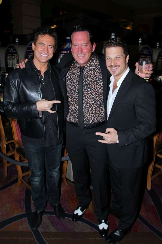 Gordie Brown,  Anthony Cools and Mark Shunock