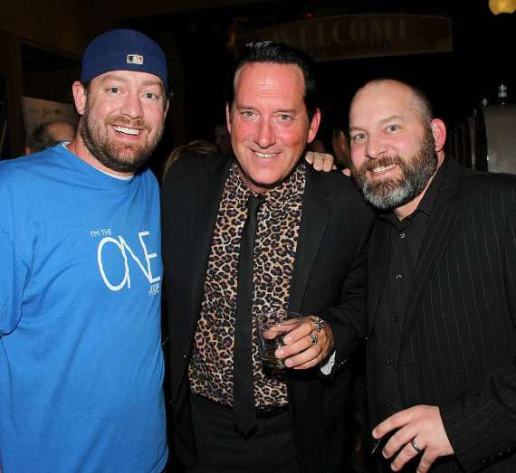 Comedian Brandt Tobler, Anthony Cools and comedian Matt Markman