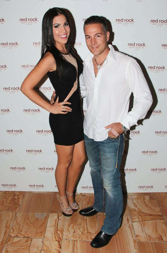 Christina Amato and Marco Traniello