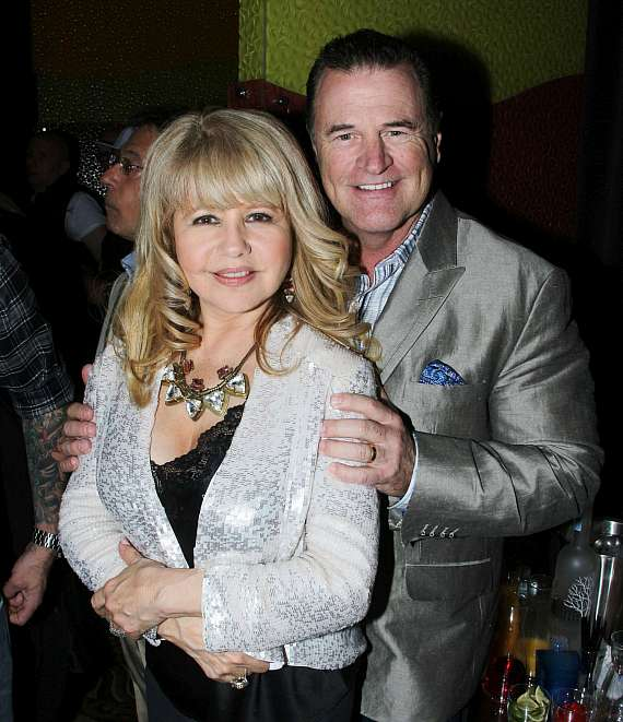 Pia Zadora and husband Michael Jeffries