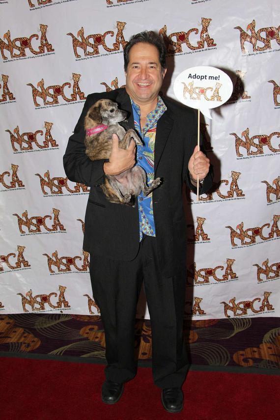 "Comedian and Laugh Factory Las Vegas co-owner Harry Basil at ""Funny Bones"" NSPCA Benefit Show"