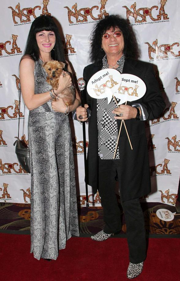 Paul Shortino of Raiding The Rock Vault with wife Carmen