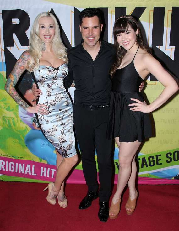 Sabina Kelley, Frankie Moreno and Claire Sinclair
