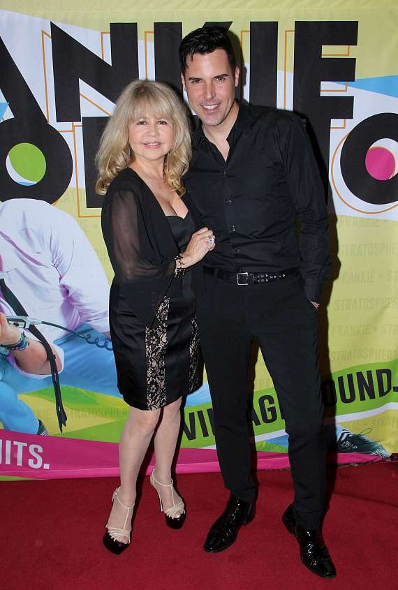 Pia Zadora and Frankie Moreno