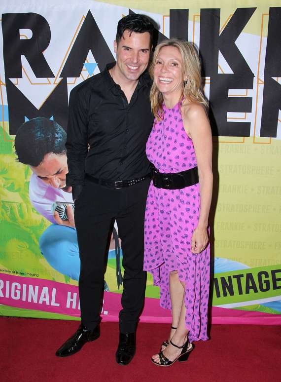 Frankie Moreno with Manager Tamara Conniff