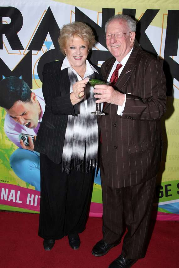 Mayor Carolyn Goodman and husband, former mayor Oscar Goodman