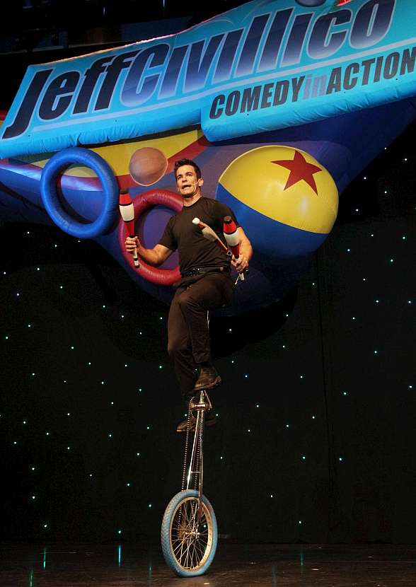 Juggler Jeff Civillico Celebrates 2-Year Anniversary of