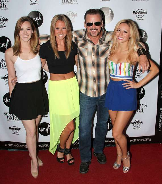 Holly Laurent, Becca Kotte,Troy Burgess & Kristen Paulicelli of Rock of Ages
