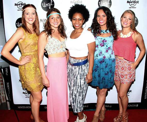 Riley Krull. Kimbre Lancaster. Brittney Johnson. Virginia Cavaliere. Kasie Gasparini of Mamma Mia!