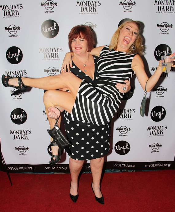 Mary Callanan and Alison Ewing of Mamma Mia!