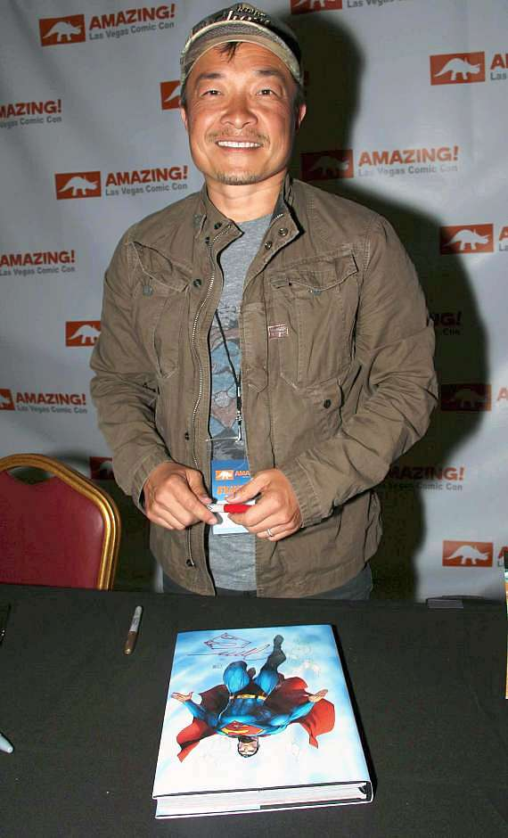 Comic book artist, writer, editor and publisher Jim Lee