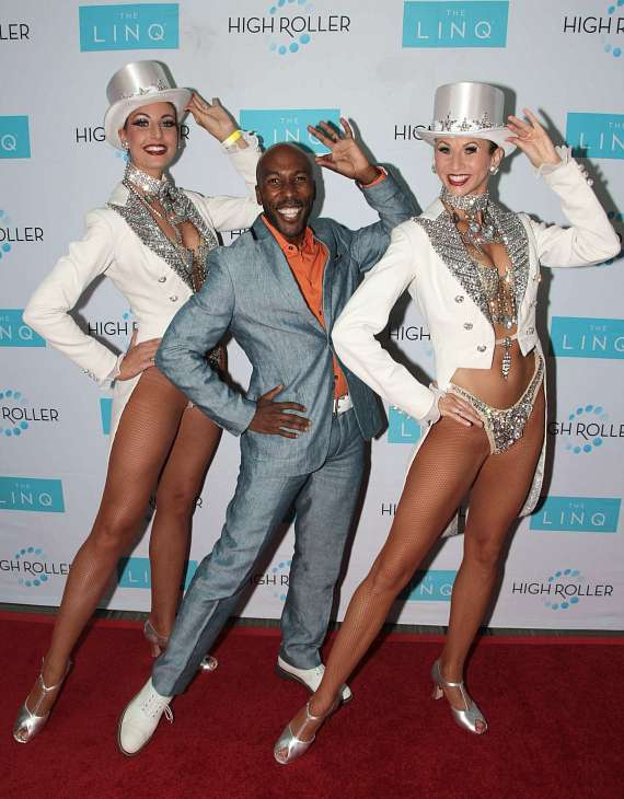 Eric Jordan Young with Showgirls