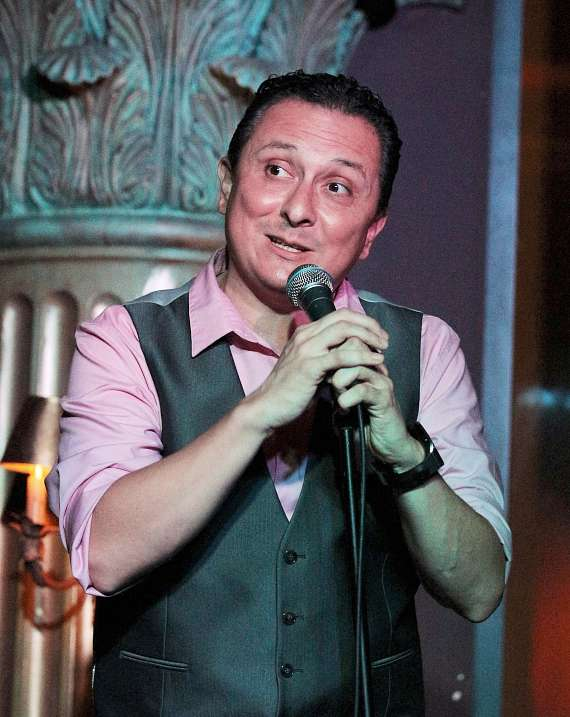 Gabe Lopez performs at House of Blues Foundation Room