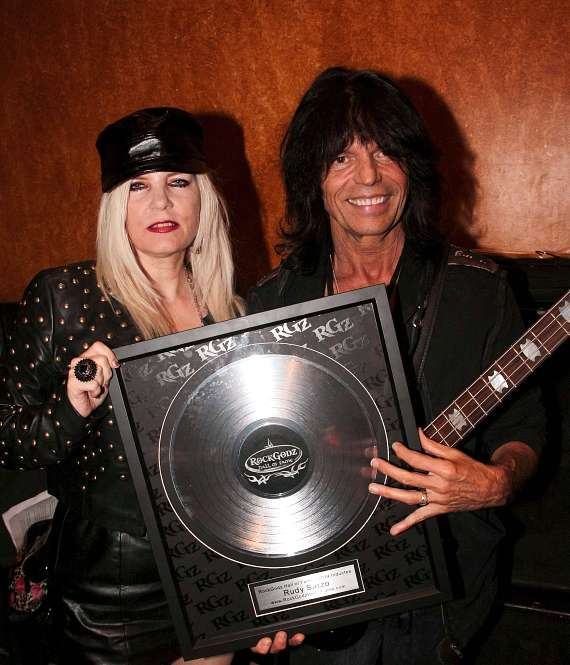 Sally Steel & Rudy Sarzo