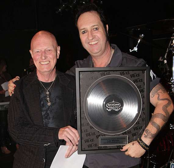 Chris Slade & Lez Warner